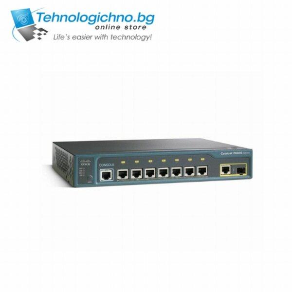 Суич Cisco Catalyst WS-C2960G-8TC-L V01