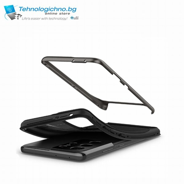 Кейс Spigen Neo Hybrid Case S21 Ultra