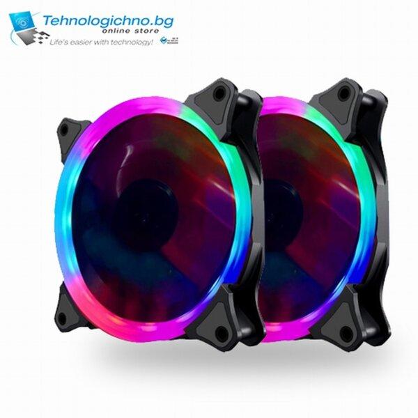 Makki 120mm RGB 2 Ring SET3