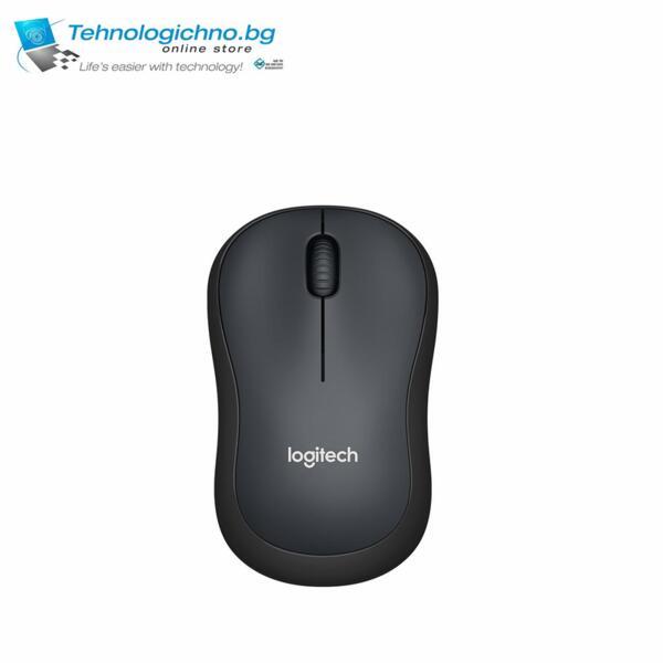 Мишка Logitech M220 Silent Black