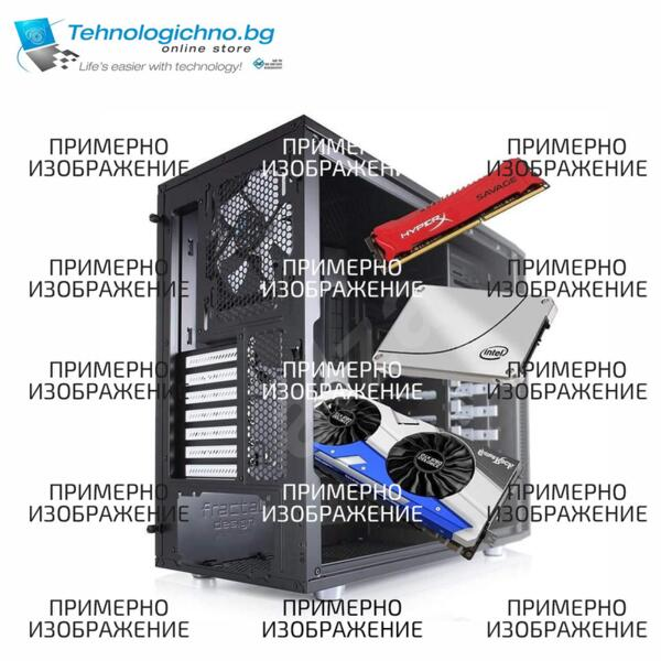 PC Асемблиран CoolerMaster i7-10700 16GB 500GB