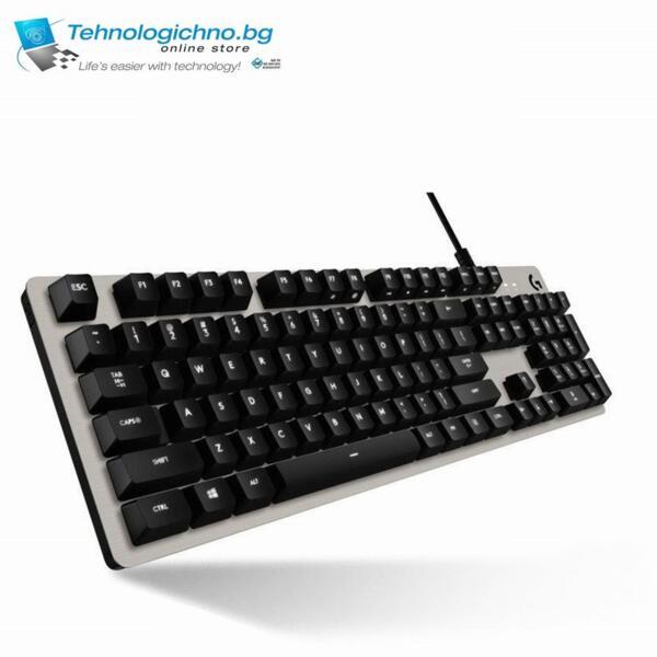 Гейминг клавиатура Logitech G413 Silver