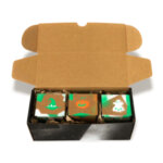 Natural Scented cult candles SET of 3   Limited HALLOWEEN Edition   TRAKE