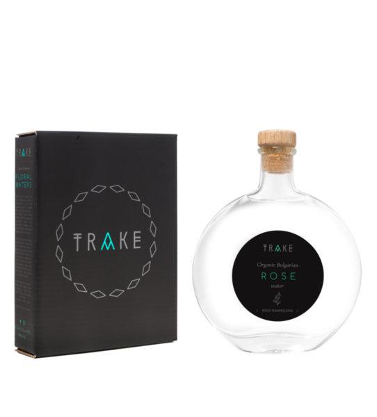 Organic Bulgarian Rose water [DAMASCENA]   TRAKE