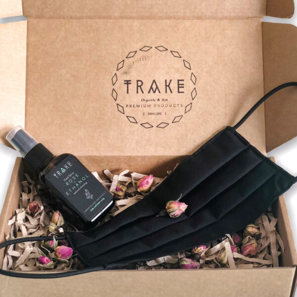 Corporate Protection Set [Cotton Face Mask + Hand Spray] | TRAKE