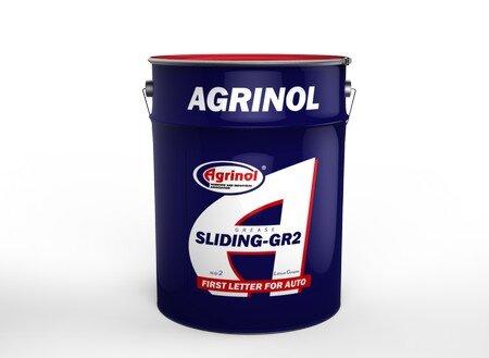 Агринол грес SLIDING EP2 високотемпературна литиева 170°C 17кг