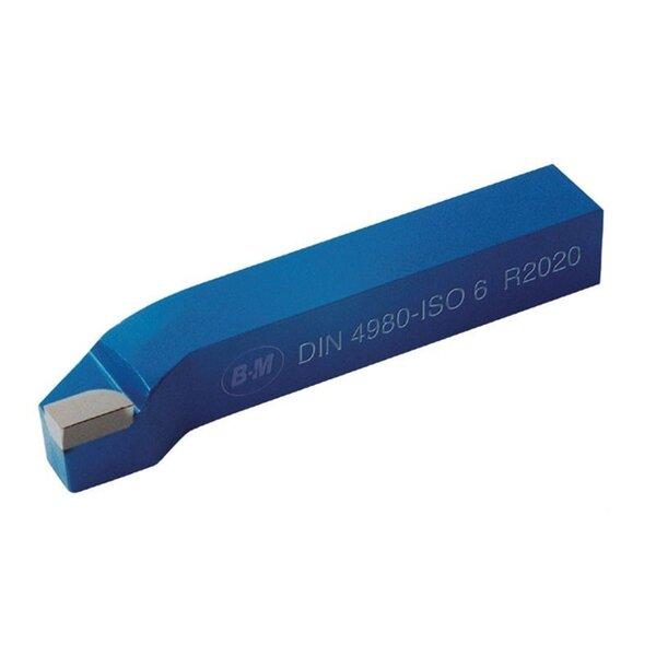 Стругарски нож проходен упорен 12x12x100 десен P30 ISO6 DIN4980