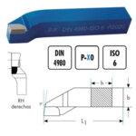 Стругарски нож проходен упорен 25x16x140 десен P30 ISO6 DIN4980