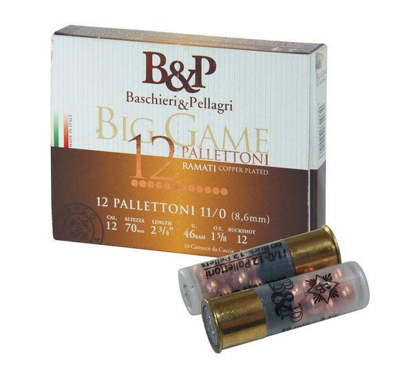 Патрони BP Big Game Pallettoni - 46 гр, №11/0