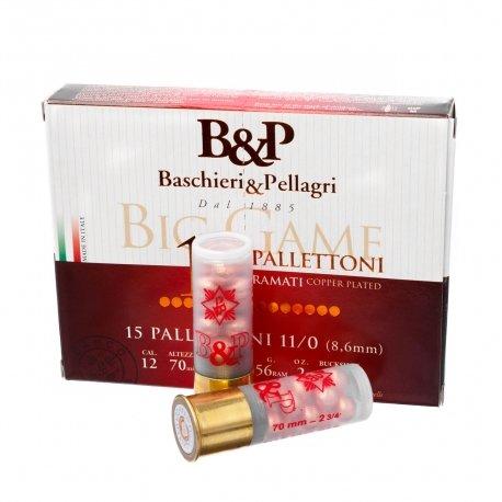 Патрони BP Big Game Pallettoni - 56 гр, №11/0