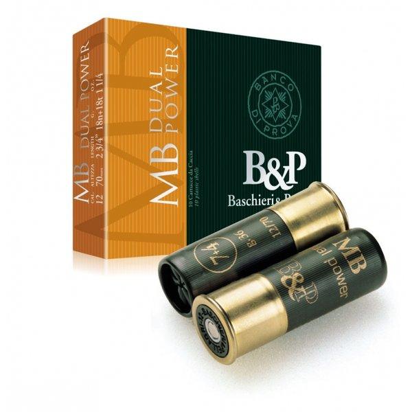 Патрони BP Dual Power - 36 гр, №7+4