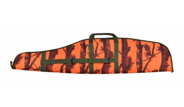 Калъф за пушка с оптика - Оранжев камуфлаж, 130см