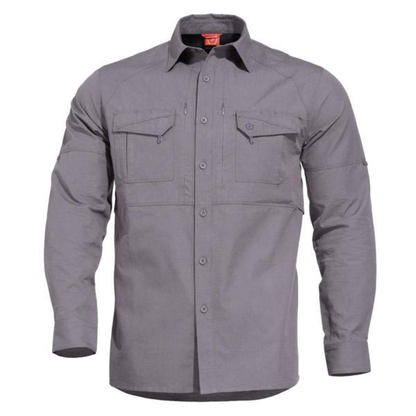 Тактическа риза Chase - Сива