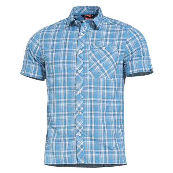 Риза Scout с къс ръкав - Светлосиня