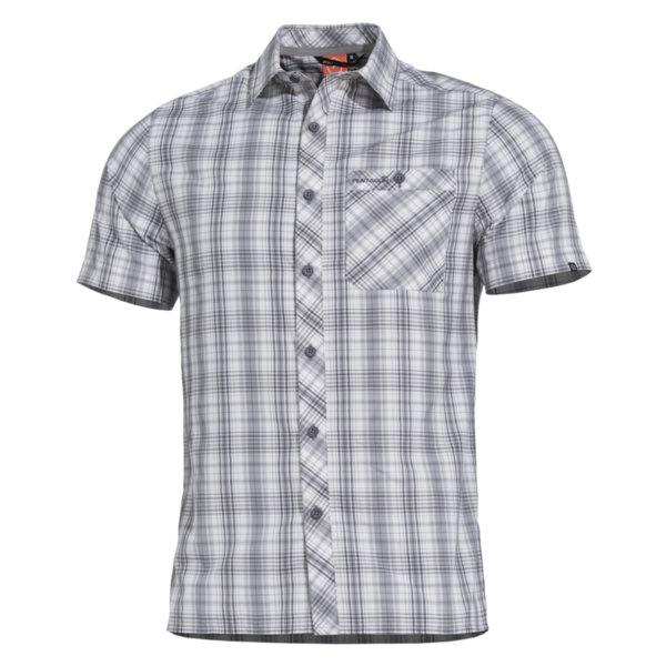 Риза Scout с къс ръкав - Сива