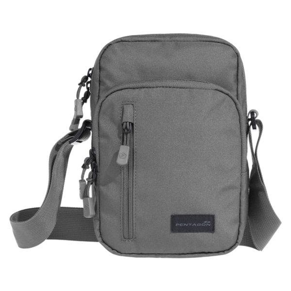 Раменна чанта Kleos - Сива