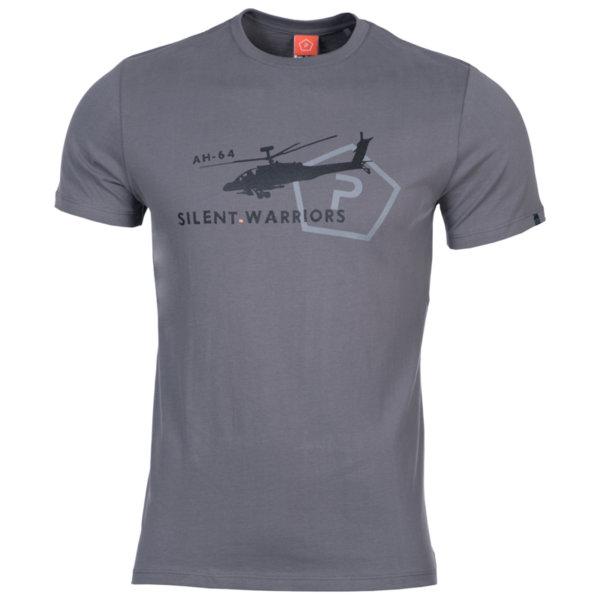 Тениска Helicopter - Сива