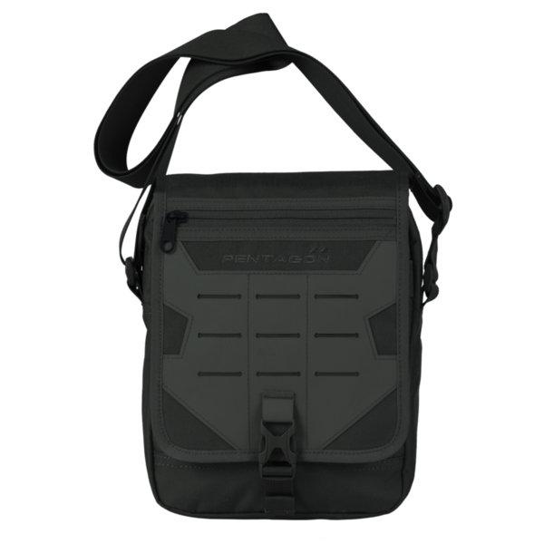 Раменна чанта Messenger - Черна