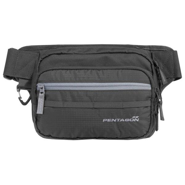 Чанта за кръст с отделение за оръжие Runner - Черна