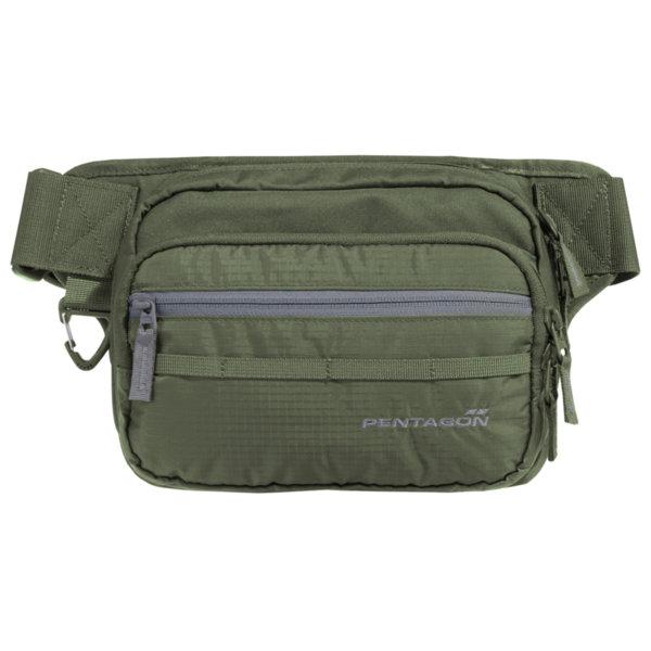 Чанта за кръст с отделение за оръжие Runner - Зелена