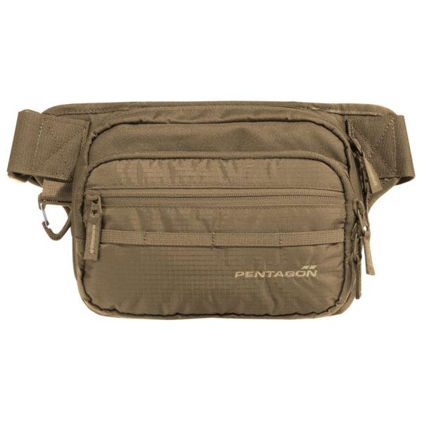 Чанта за кръст с отделение за оръжие Runner - Кафява