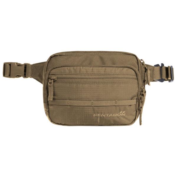 Чанта за кръст Protean - Кафява