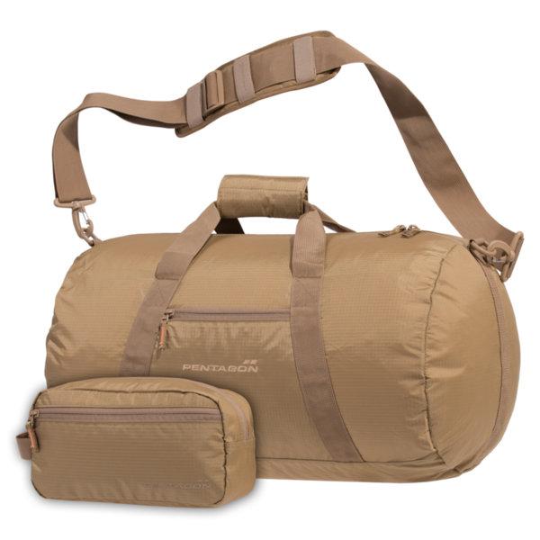 Спортна чанта Kanon - Кафява
