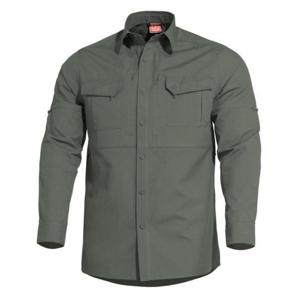 Тактическа риза Plato - Тъмнозелена
