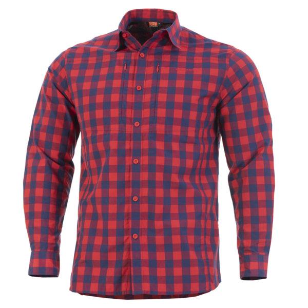Тактическа риза QT - Червена