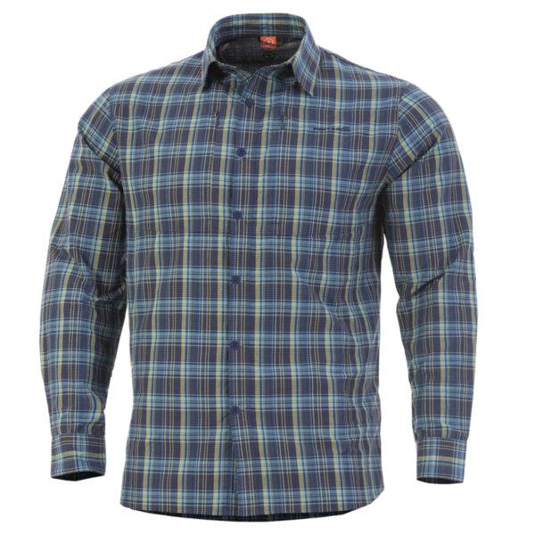 Тактическа риза QT - Синя