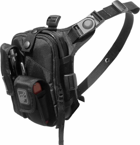 Гръдна чанта Covert Escape - Черна