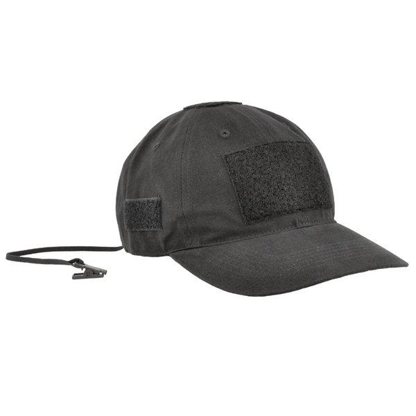 Шапка с козирка PMC Cotton - Черна