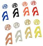 Цветно лого за спийд машини Alpha-X