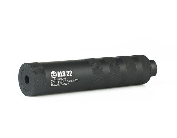 Супресор ALS, cal. .22, резба - 1/2x20, алуминий