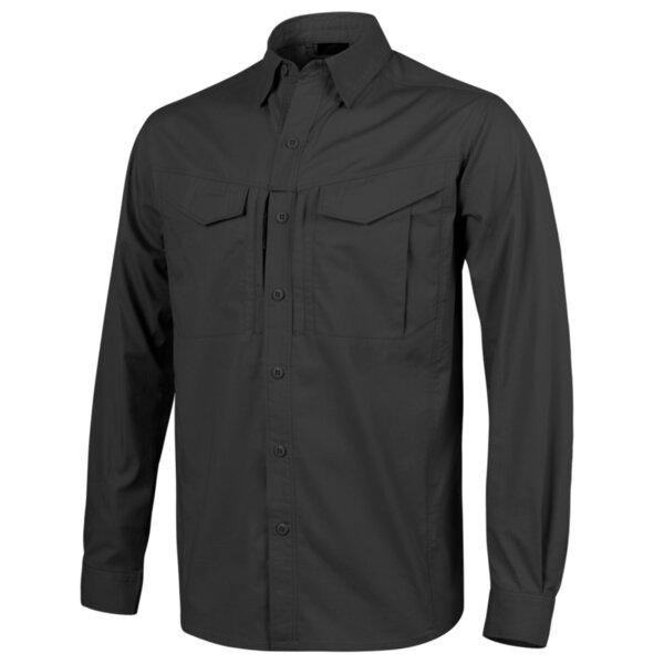 Риза с дълъг ръкав Defender Mk2 – черна
