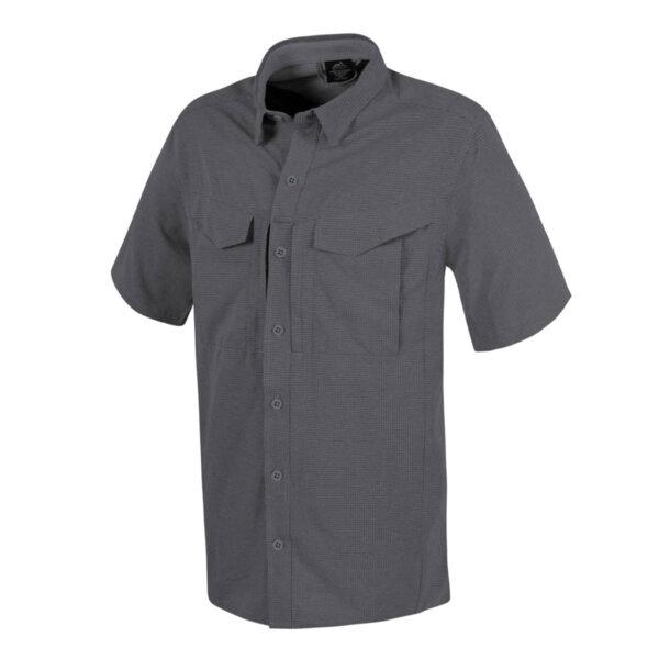 Риза с къс ръкав Defender Mk2 - сива
