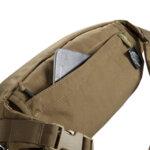 Малка тактическа чанта Bandicoot – черна