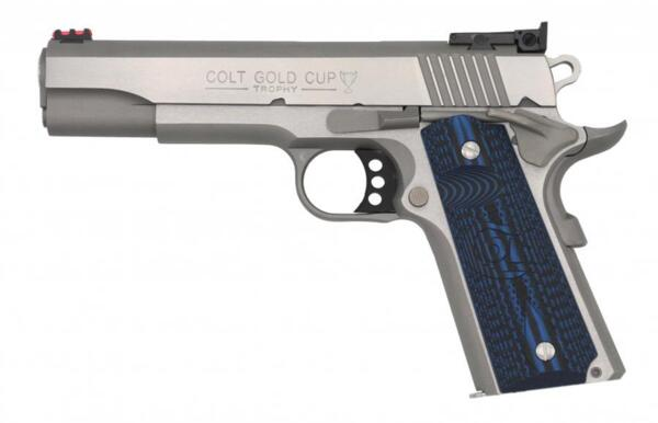 """Пистолет Gold Cup, неръждаема стомана - .45 ACP, 5"""""""