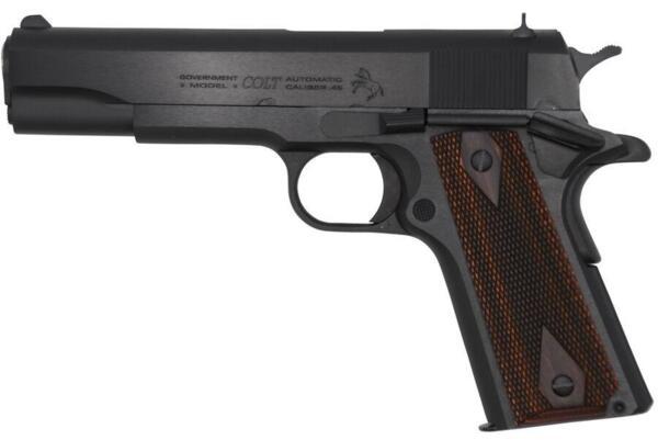 """Пистолет Government, черен - .45 ACP, 5"""""""
