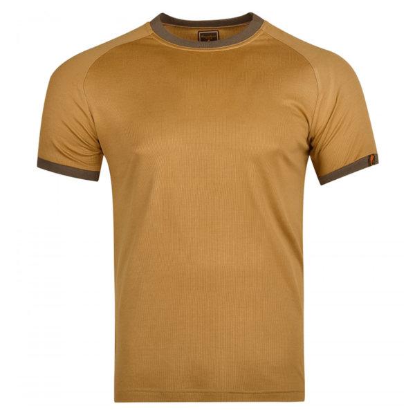 Тениска Caffrum - Кафява