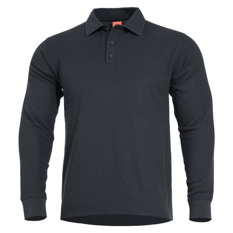 Блуза Aniketos Long Polo - Черна
