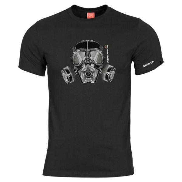 Тениска Gas Mask - Черна