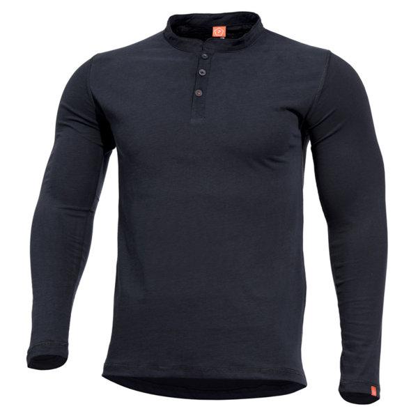Блуза Romeo Henley - Черна