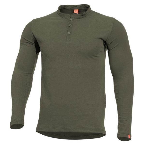 Блуза Romeo Henley - Зелена