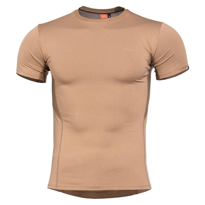 Тениска Apollo Tac-Fresh - Кафява