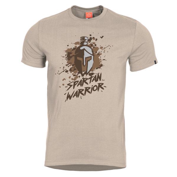 Тениска Spartan Warrior - Кафява