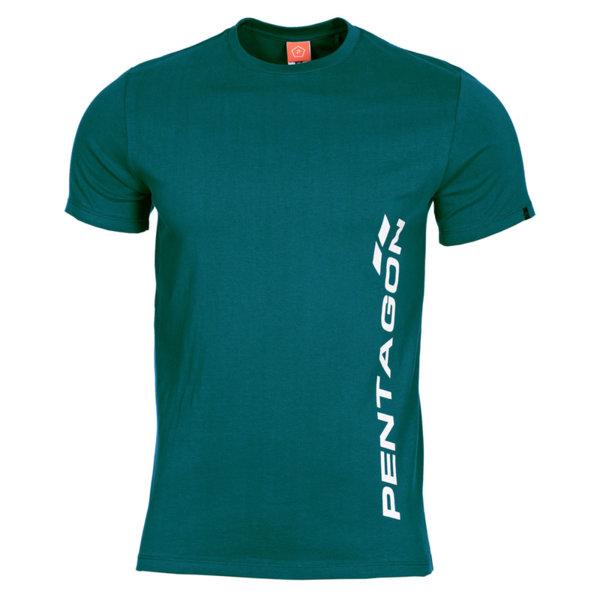 Тениска Pentagon Vertical - Синя