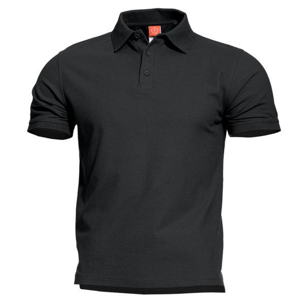 Тениска Aniketos Polo - Черна