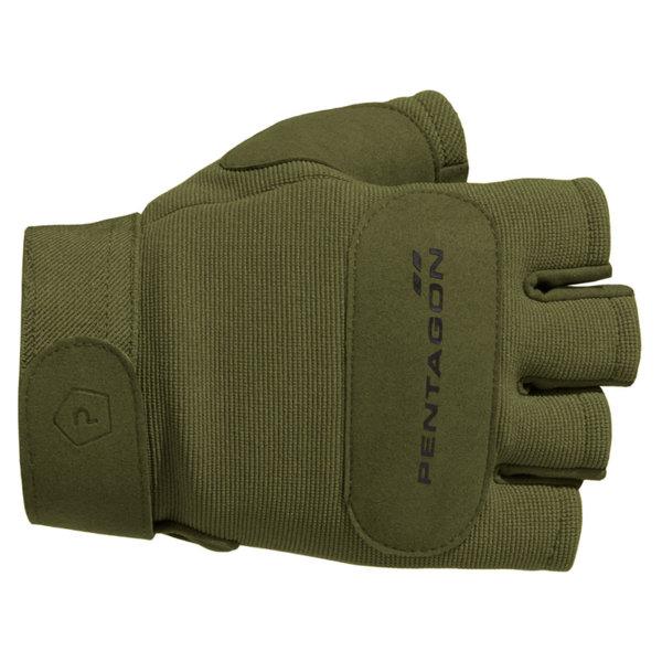 Ръкавици Mechanic 1/2 - Зелени