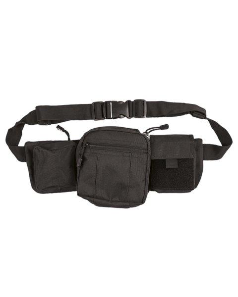 Чанта за кръст с джоб за оръжие - Черна